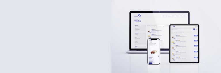 Header website homepage